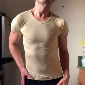 The Stretch Muscle T-Shirt (Cream)